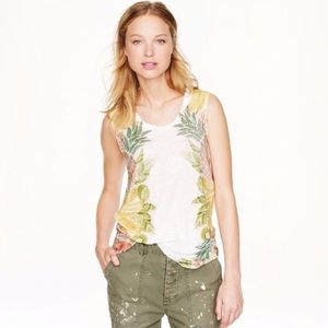 J. Crew Fruit Salad Tee